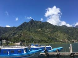 Le dock de San Juan la Laguna