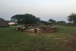 Un bout du camping de l'Akagera