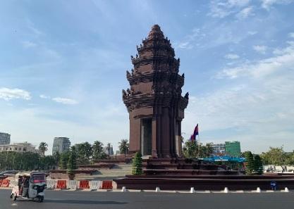Monument de l'amitié cambo-vietnamienne