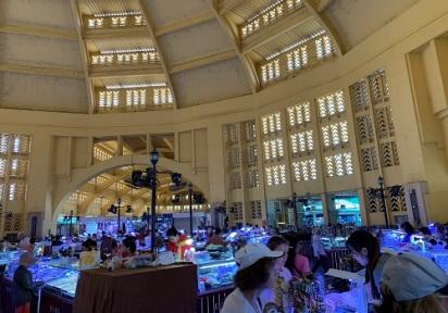 Le marché central et son célèbre dôme