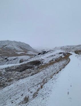 Sur le chemin de Reykjaladur...